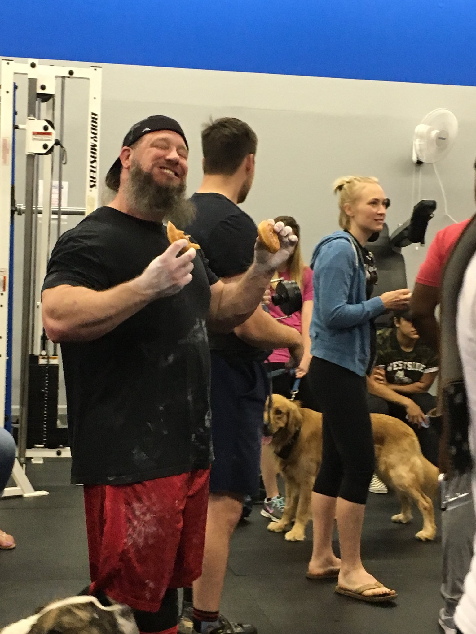 dogs deadlifts &donuts