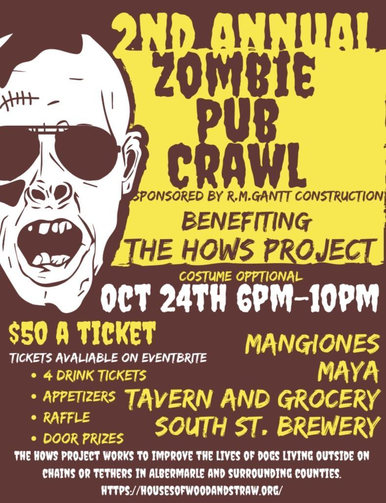 HOWS Zombie Pub Crawl